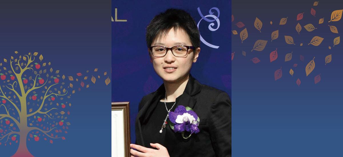 2018年第十一屆 台灣傑出女科學家獎「孟粹珠獎學金」得主 林秀娟 同學